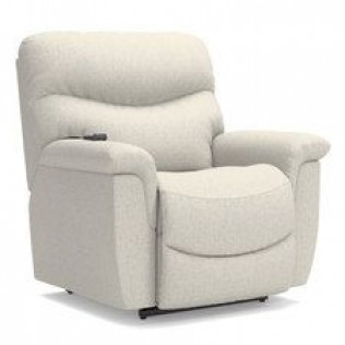 James Silver Power Lift Recliner