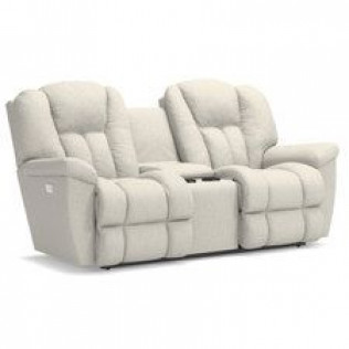 Maverick Power Wall Reclining Loveseat with Console