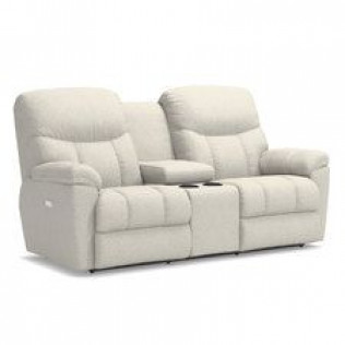 Morrison Power Reclining Loveseat with Headrest and Console
